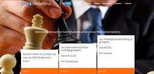 Homepage DEC Nederland
