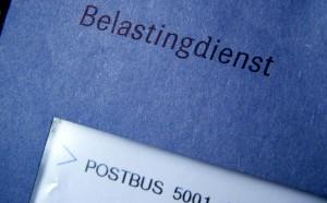 Belastingdienst, blauwe envelop verdwijnt